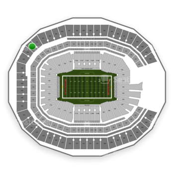 NFL at Mercedes-Benz Stadium Section 331 View