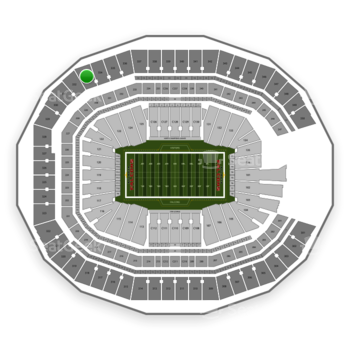 NFL at Mercedes-Benz Stadium Section 333 View