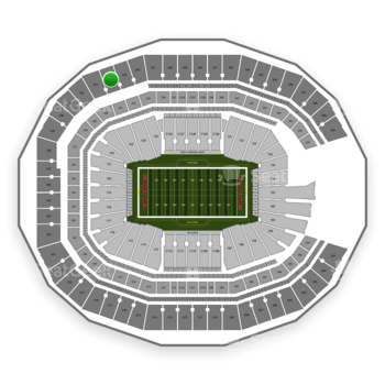 NFL at Mercedes-Benz Stadium Section 334 View