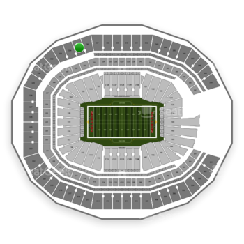 NFL at Mercedes-Benz Stadium Section 335 View