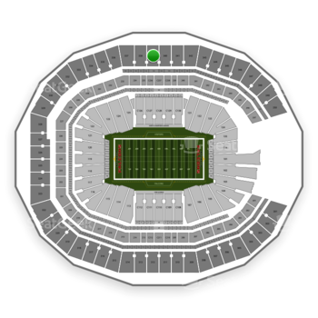 NFL at Mercedes-Benz Stadium Section 339 View