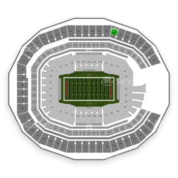 NFL at Mercedes-Benz Stadium Section 343 View