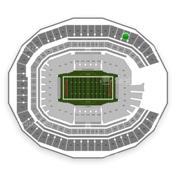 NFL at Mercedes-Benz Stadium Section 345 View