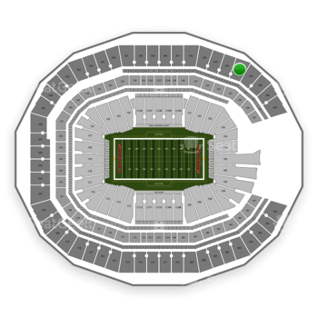 NFL at Mercedes-Benz Stadium Section 346 View