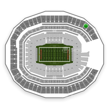 NFL at Mercedes-Benz Stadium Section 347 View
