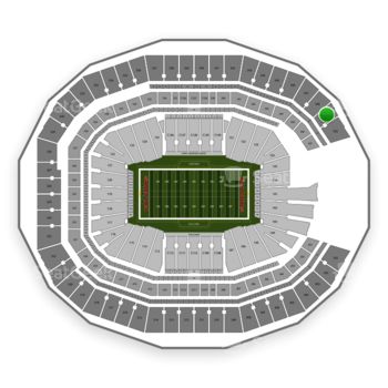 NFL at Mercedes-Benz Stadium Section 349 View