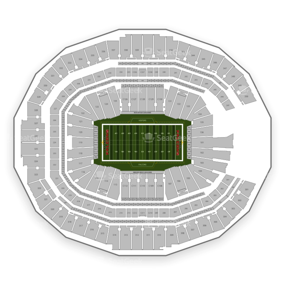 Atlanta Falcons Seating Chart