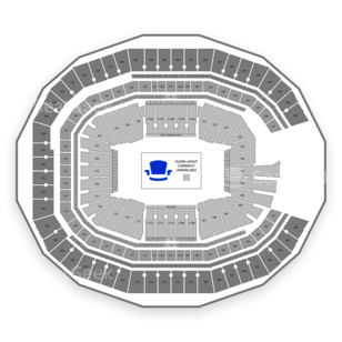 Mercedes Benz Stadium Seating Chart Seatgeek