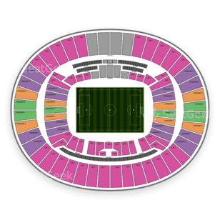 Estadio Mineirao Seating Chart Concert
