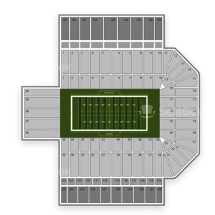 Gaylord Family-Oklahoma Memorial Stadium Seating Chart Concert