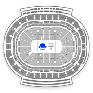 Little Caesars Arena Seating Chart NCAA Football