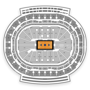Little Caesars Arena Seating Chart NCAA Basketball