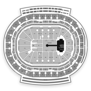 Little Caesars Arena Seating Chart Concert