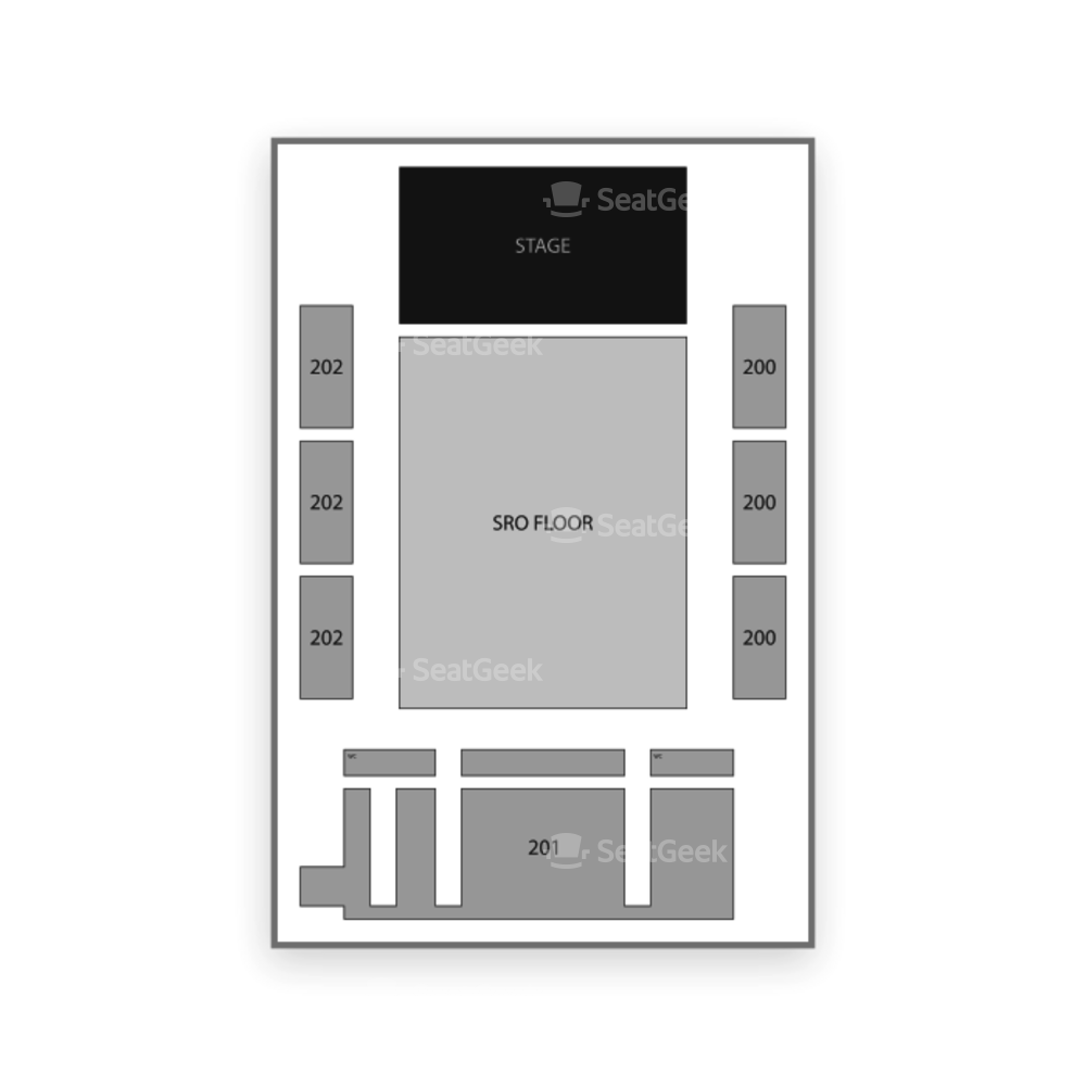 Coca-Cola Roxy Theatre Seating Chart Parking