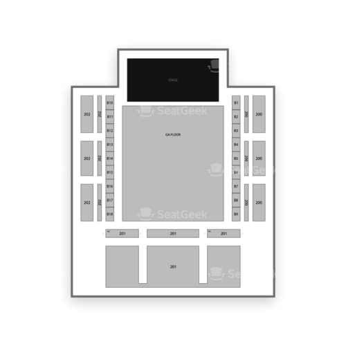 Coca-Cola Roxy Theatre Seating Chart Concert