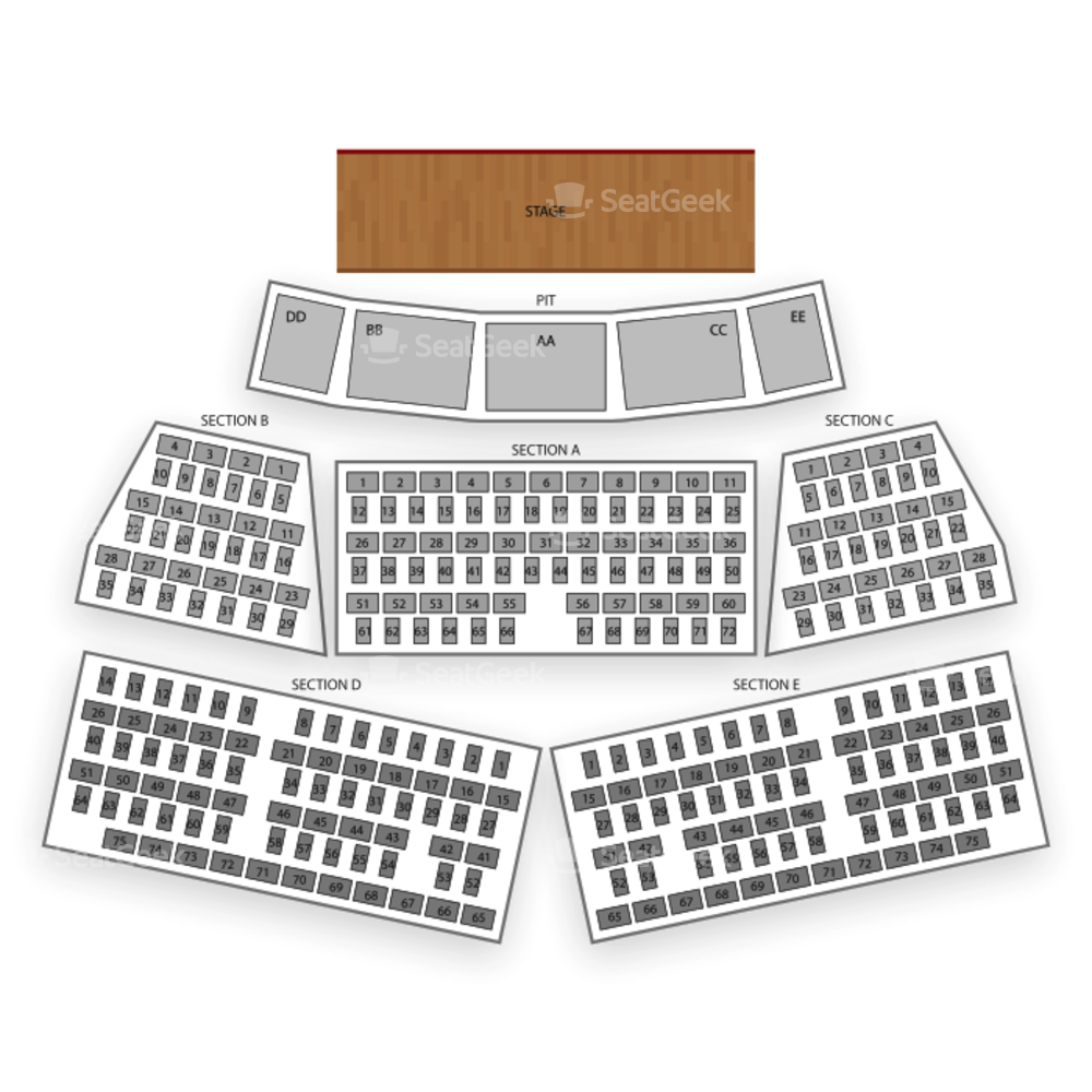 Grand Sierra Theatre Seating Chart Comedy