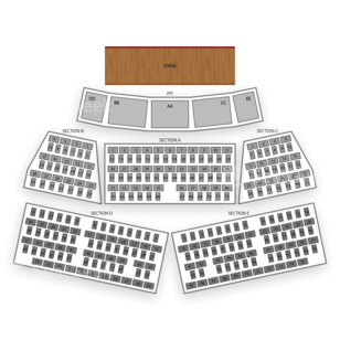 Grand Sierra Theatre Seating Chart Dance Performance Tour