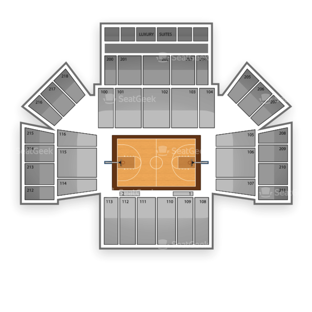 Hofstra Pride Basketball Seating Chart