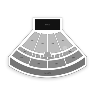 The Pavilion at Toyota Music Factory Seating Chart Concert