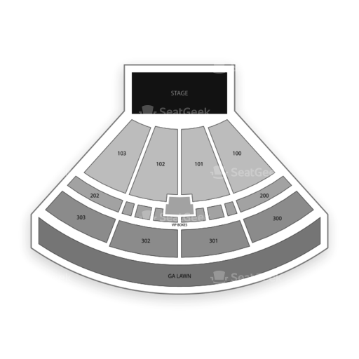 The Pavilion At Toyota Music Factory Seating Chart Concert Map Seatgeek