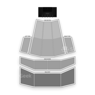 Zellerbach Hall Seating Chart Theater