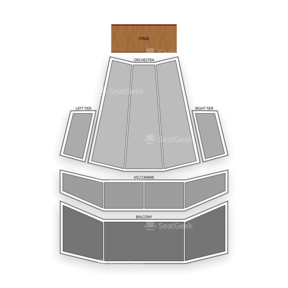 Zellerbach Hall Seating Chart Concert