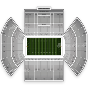 BYU Cougars Football Seating Chart
