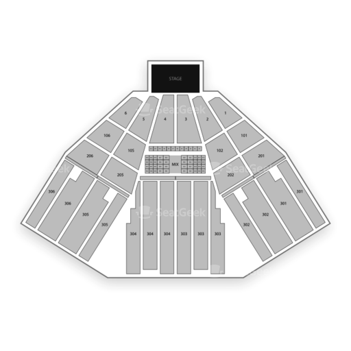 Fivepoint Amphitheater Seating Chart Seatgeek
