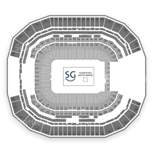 University of Phoenix Stadium Seating Chart Concert