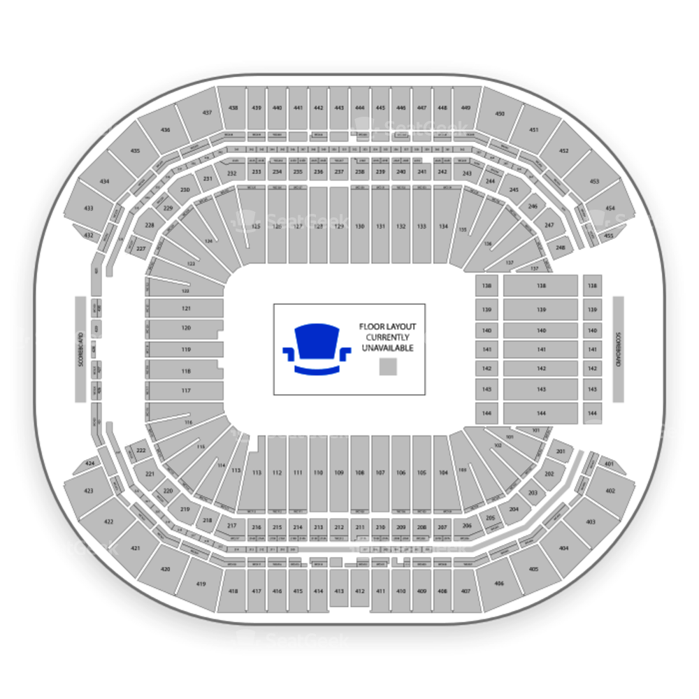 State Farm Stadium Seating Chart Concert