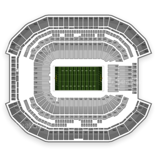 University of Phoenix Stadium Seating Chart NCAA Football
