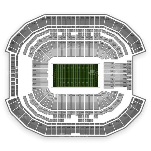 University of Phoenix Stadium Seating Chart