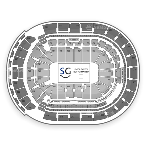 Nationwide Arena Seating Chart Wrestling