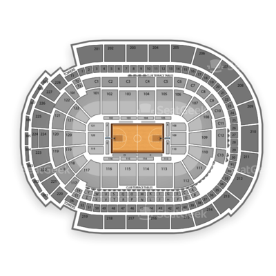 Nationwide Arena seating chart NCAA Men's Basketball Tournament
