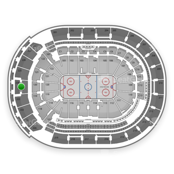 Columbus Blue Jackets at Nationwide Arena Section 224 View