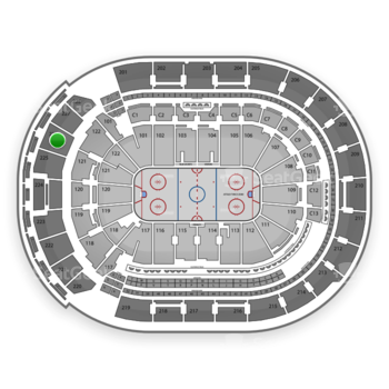Columbus Blue Jackets at Nationwide Arena Section 226 View