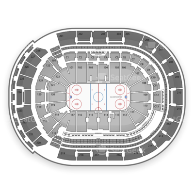 Nationwide Arena seating chart Columbus Blue Jackets