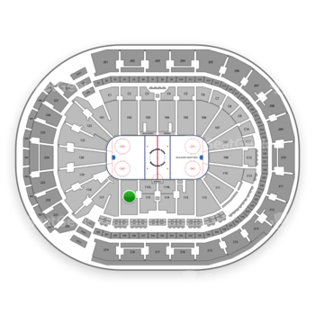 Columbus Blue Jackets at Nationwide Arena Section 116 View