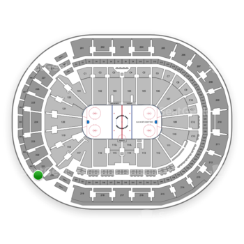 Columbus Blue Jackets at Nationwide Arena Section 301 View
