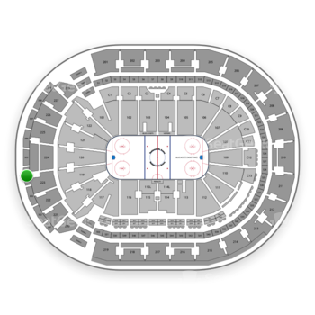 Columbus Blue Jackets at Nationwide Arena Section 304 View
