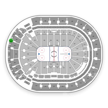 Columbus Blue Jackets at Nationwide Arena Section 307 View