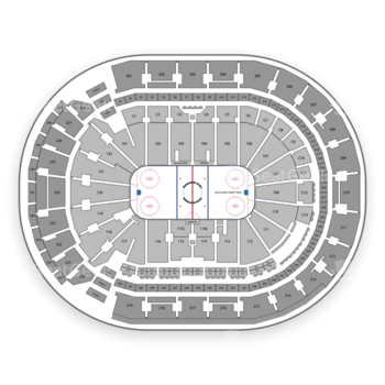 Columbus Blue Jackets at Nationwide Arena C 13 View