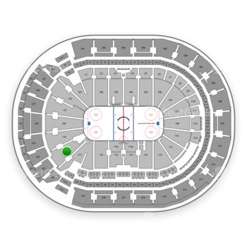 Columbus Blue Jackets at Nationwide Arena Section 118 View