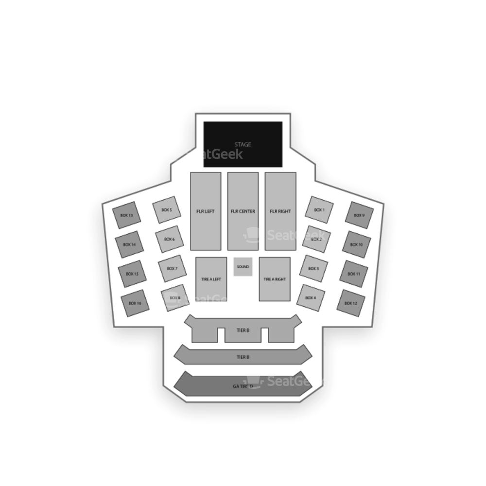 The Anthem Seating Chart Concert