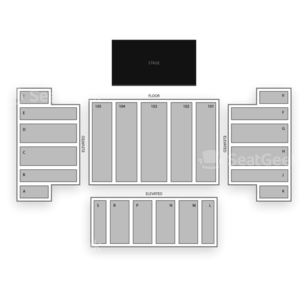 Trump Taj Mahal Seating Chart Concert