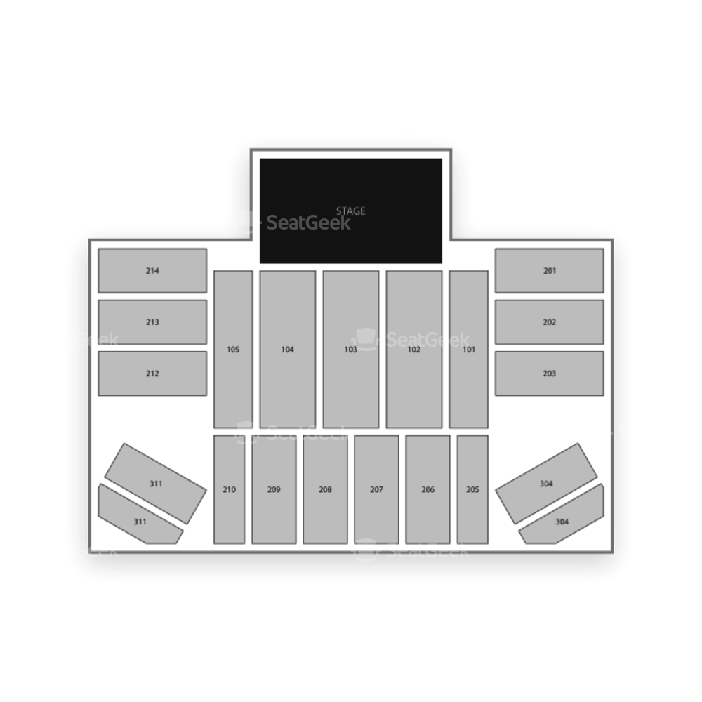 Hard Rock Live at Etess Arena Seating Chart MMA