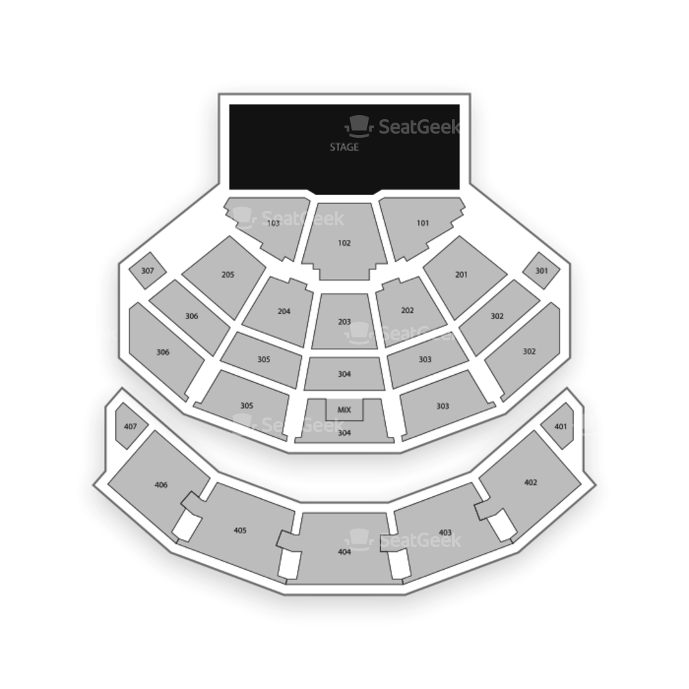 Park MGM Las Vegas Seating Chart Concert