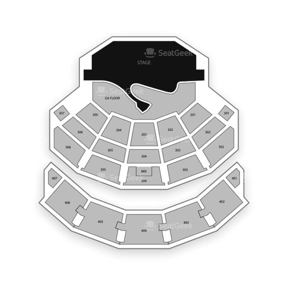 Park Theatre Seating Chart Concert