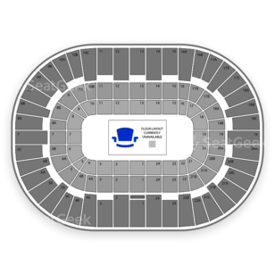 Valley View Casino Center Seating Chart Concert