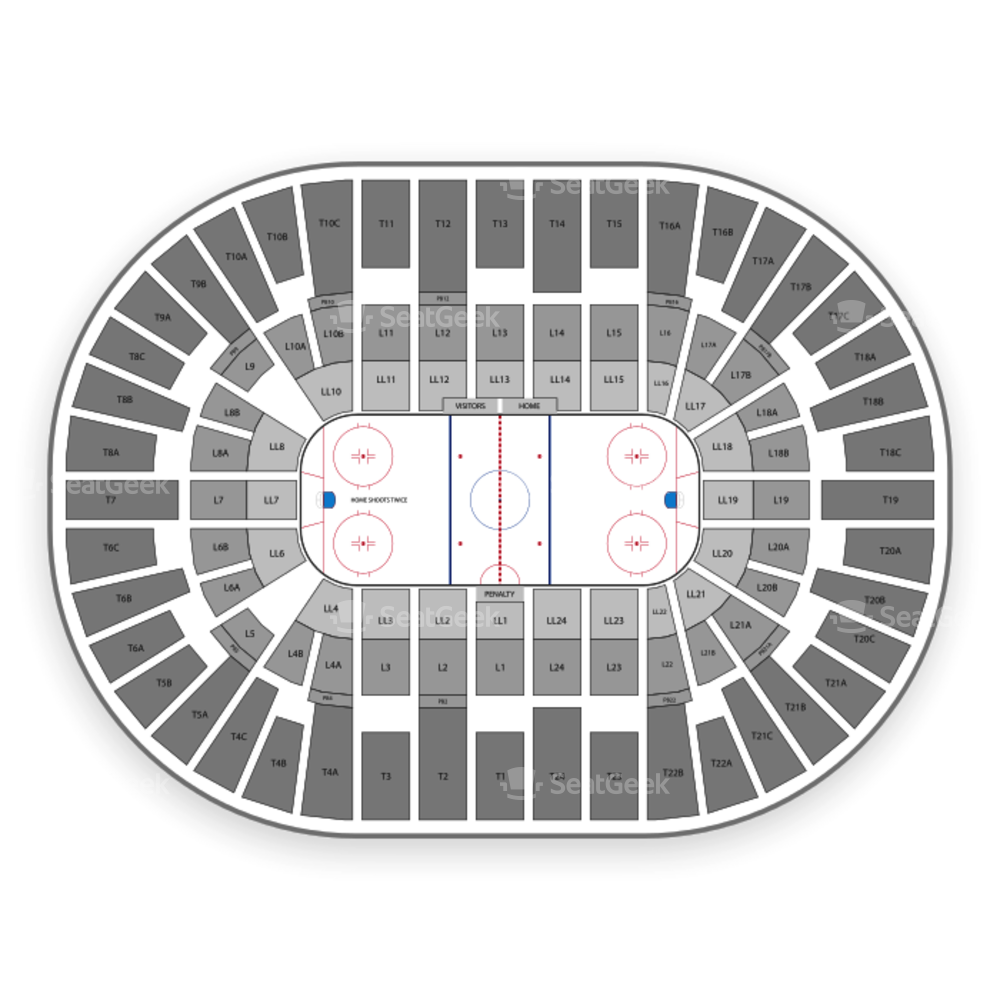 Pechanga Arena San Diego Seating Chart Minor League Hockey